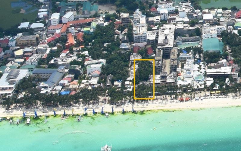 Beach Resort Air Photo