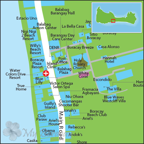 White Coral Boracay Discount Hotels Free Airport Pickup