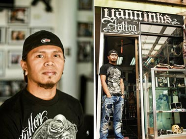 Yanninks tattoo studio in boracay boracay blogs for Philippine island tattoo