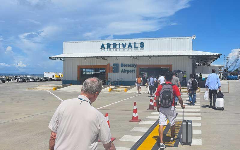 arrivals area