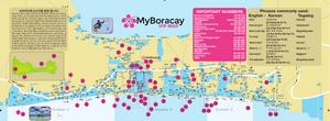 My Boracay Guide Korean Place Mat 23rd Edition