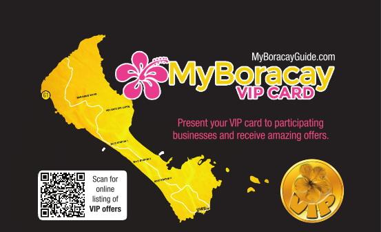 My Boracay Guide VIP Card 28th Edition