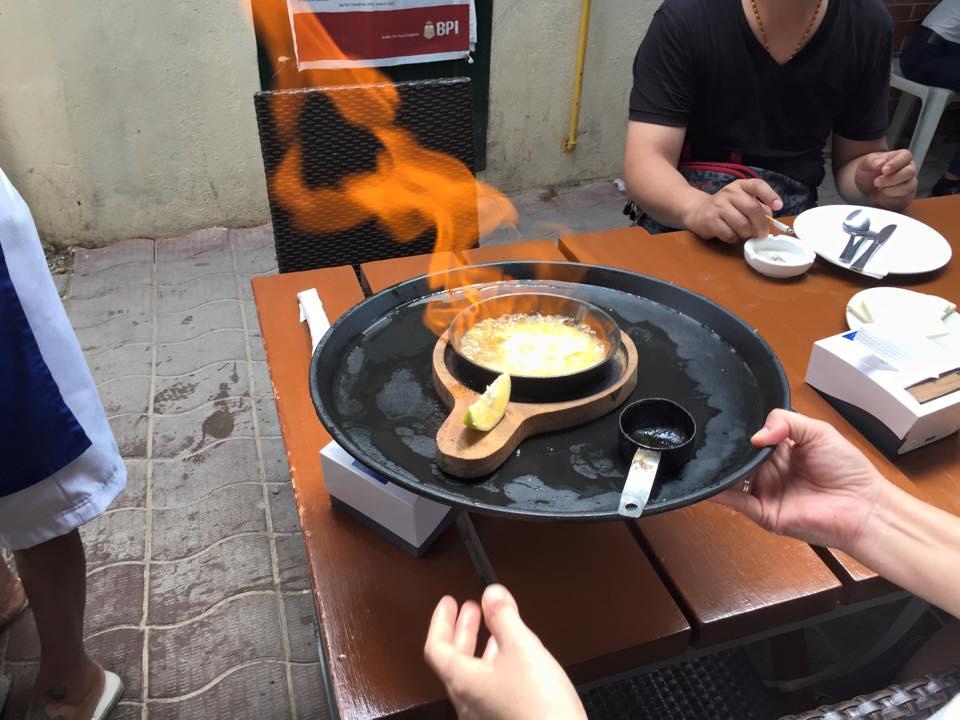 Flaming Saganaki (Cheese)