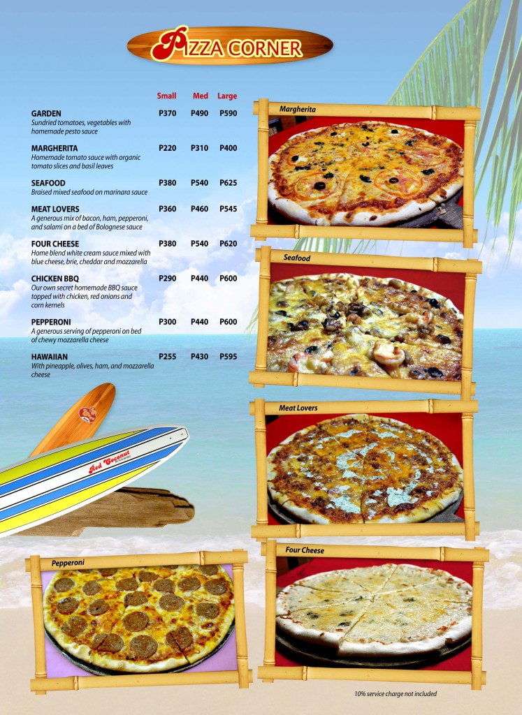 Red Coconut Menu 7