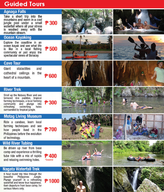 Boracay Main land adventures guided tours