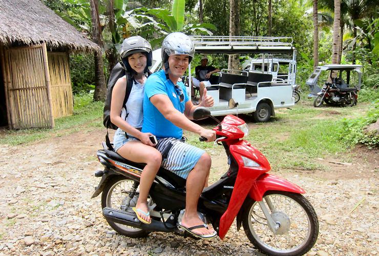 mainland adventures motorcycles off boracay