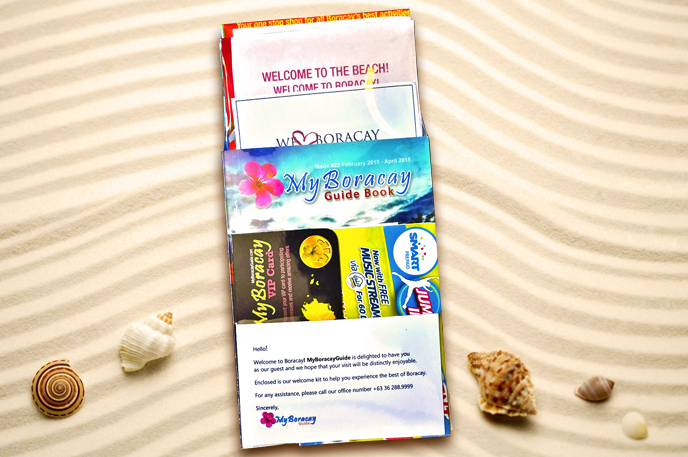 Boracay Free Welcome Kit