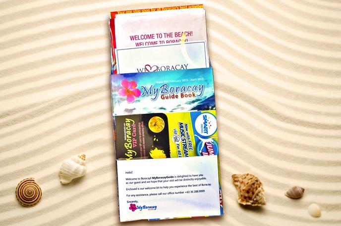 Boracay Free Welcome Kit