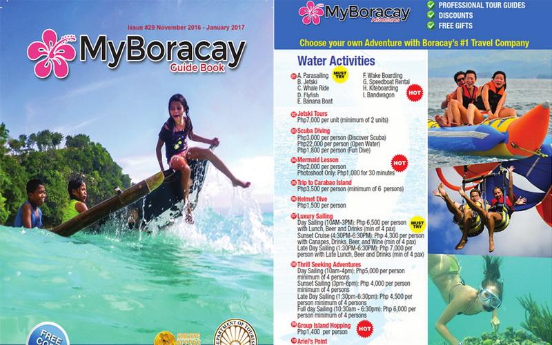 My Boracay Guide VIP Card 29th Edition