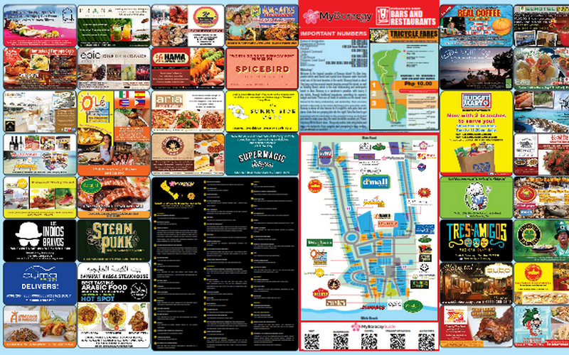 My Boracay Guide Map 29th Edition