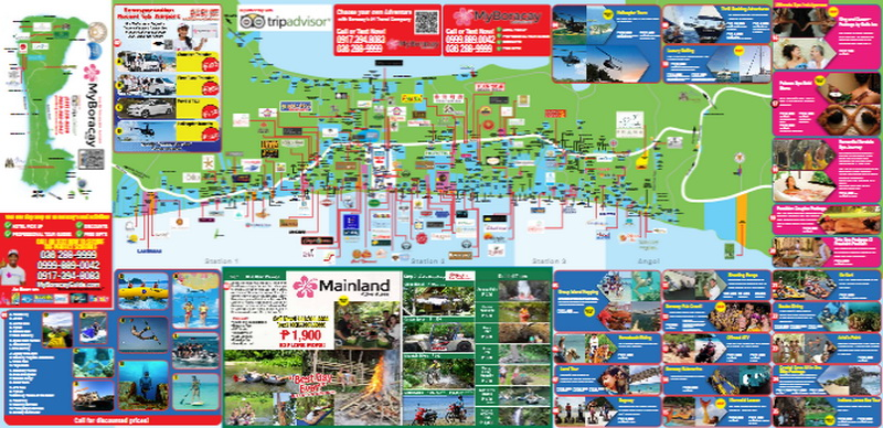 MyBoracayGuide Map 24th Edition