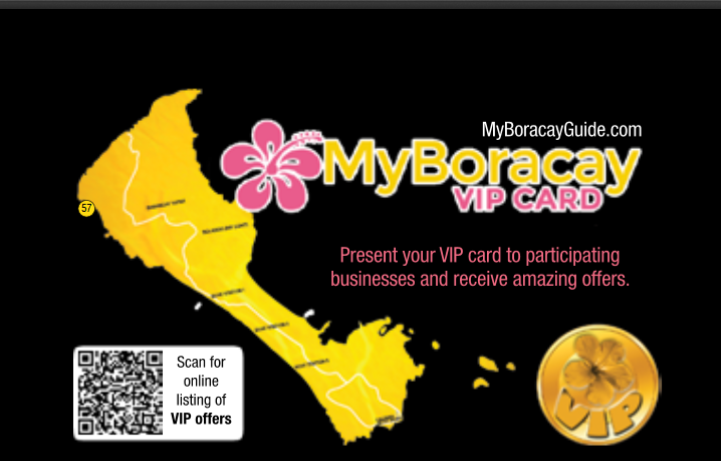MyBoracayGuide VIP Card 30th Edition