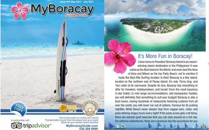 My Boracay Guide Book 31th Edition