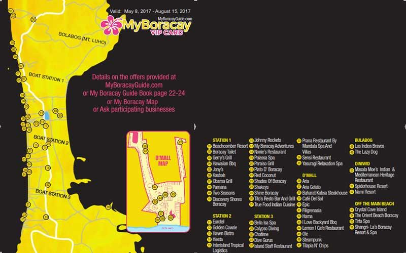 MyBoracayGuide VIP Card