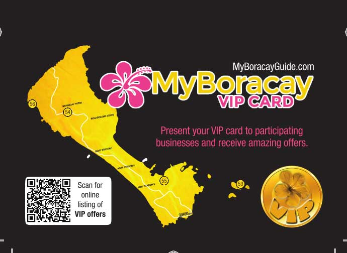MyBoracayGuide VIP Card 30th Edition