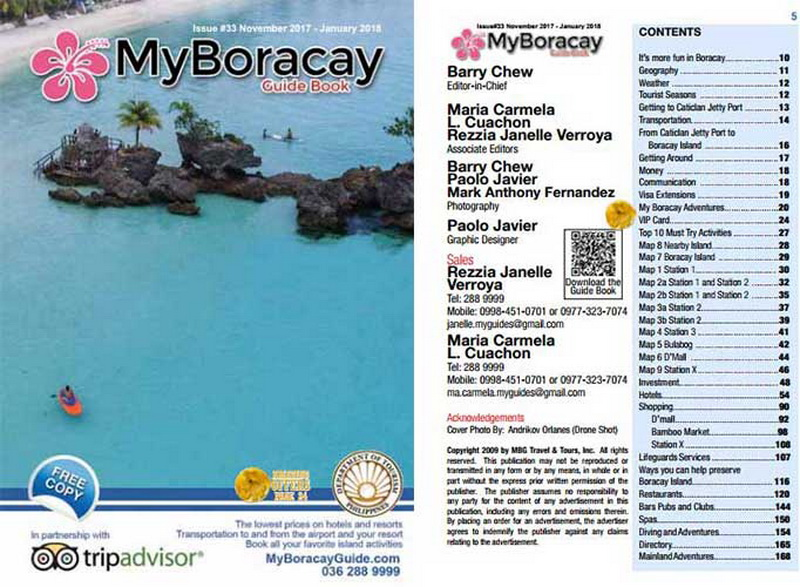 MyBoracayGuide Map