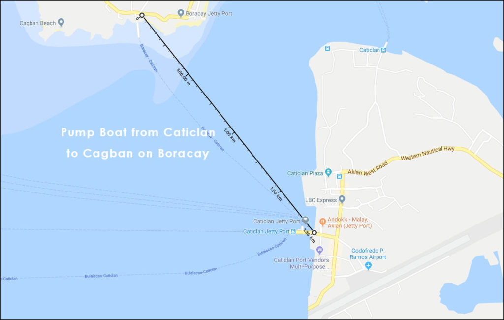 how to get to Boracay via caticlan