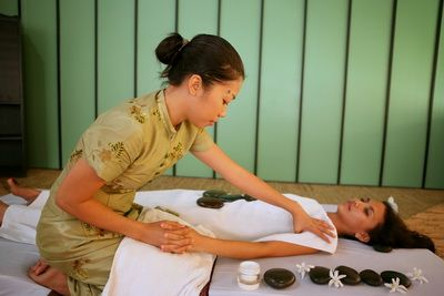 Lava Stone Massage