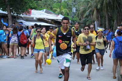 Team Building Activity Boracay