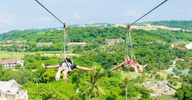 Cable Car and Zipline Boracay Activities