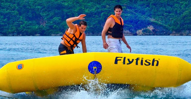 Fly Fish Boracay Activity