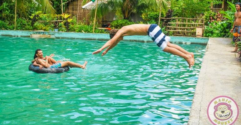 Manic Monkey Jungle Pool Party