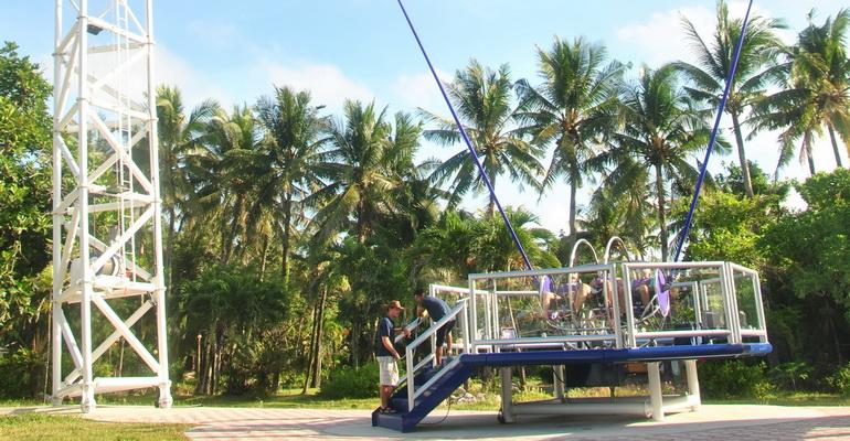 Reverse Bungy Boracay Activities