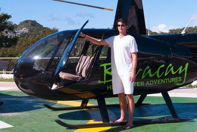 Helicopter Beach Tour Boracay Activities