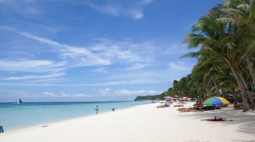 Beach wallpaper - Boracay island