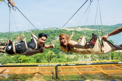 Cable Car and Zipline Combo Activities