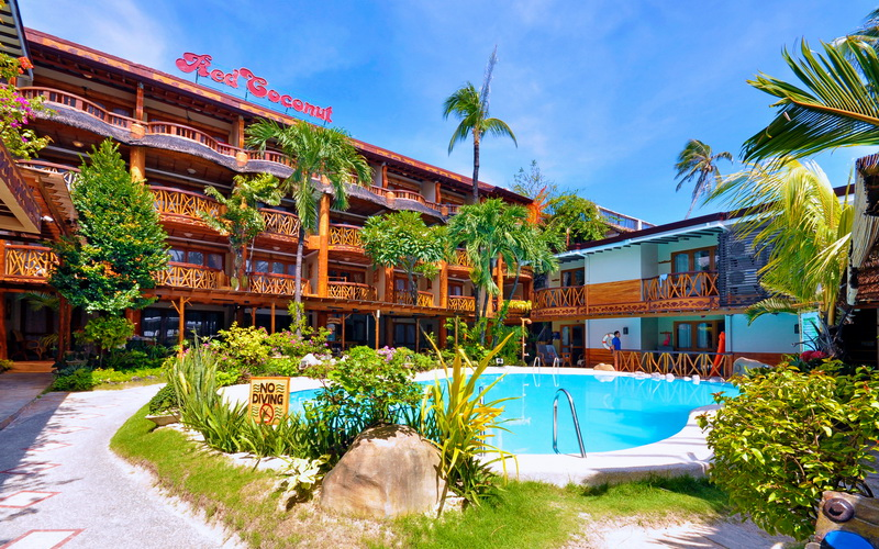 Red Coconut Boracay | Discount Hotels | Free Airport Pickup