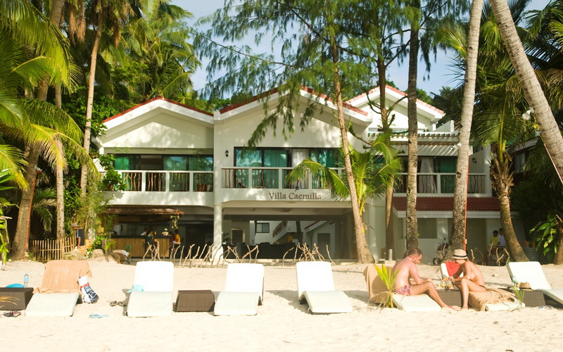 Villa caemilla beach boutique hotel boracay discount for Beach boutique hotel