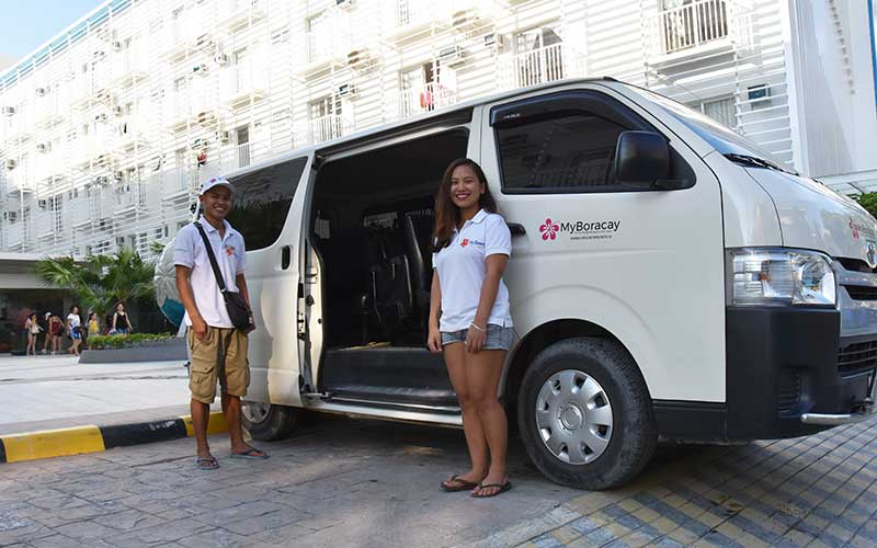 boracay transportation caticlan kalibo first class transfer myboracayguide