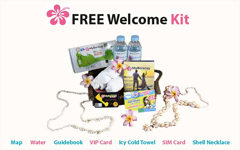Free Welcome Kit First Class MyBoracayGuide