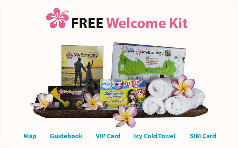 free welcome kit standard transfer myboracayguide