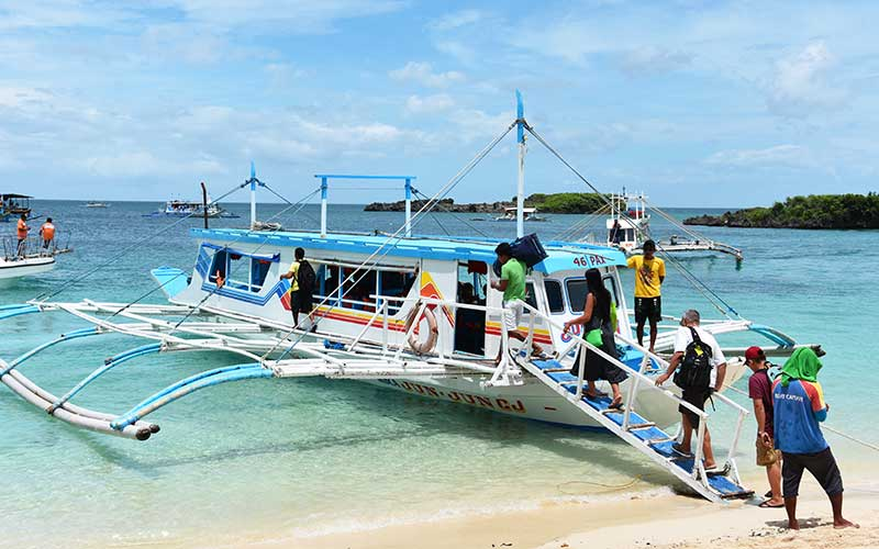 boracay transportation caticlan kalibo airport transfer banka boat