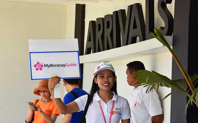 Boracay Transportation Welcome Girl First Class Transfer MyBoracayGuide
