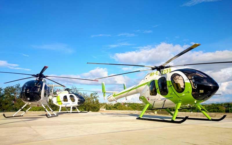 Helicopter Island Tour Boracay Activity
